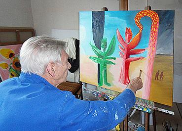 Maurice pacaud artiste peintre for Peintre decorateur