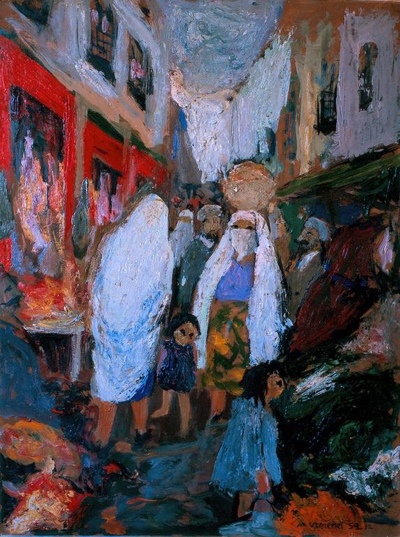 Rue des bouchers à Alger