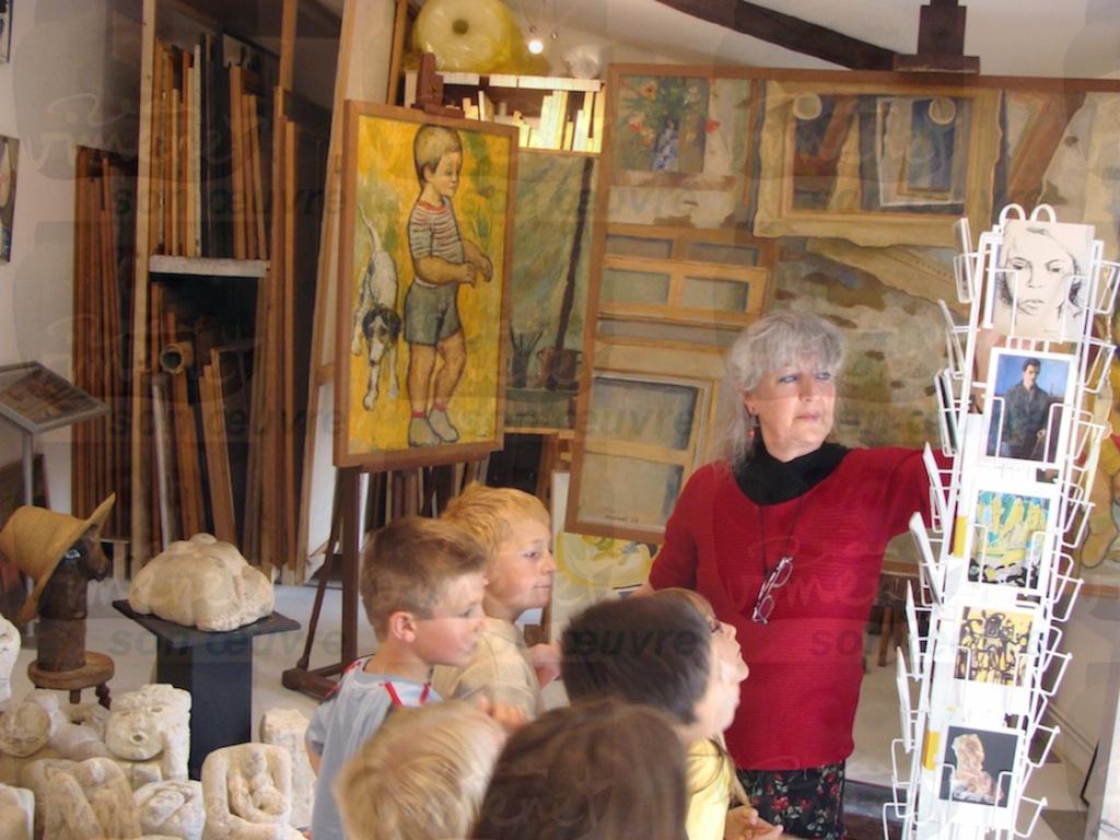 Visite atelier 2008