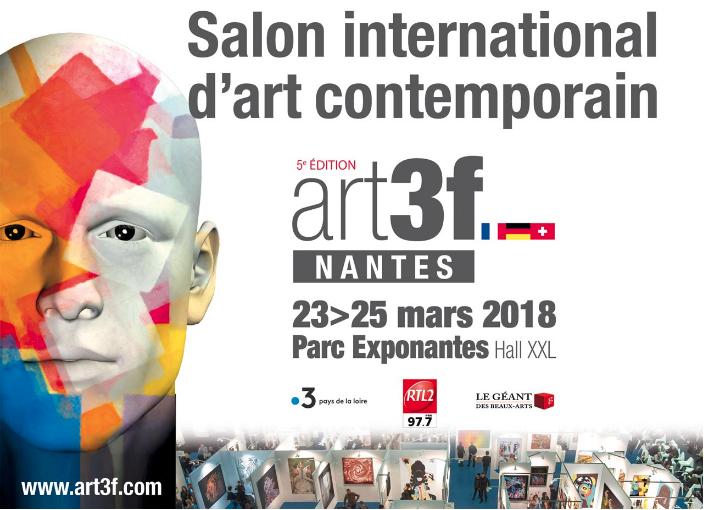 SALON ART3F NANTES 2018