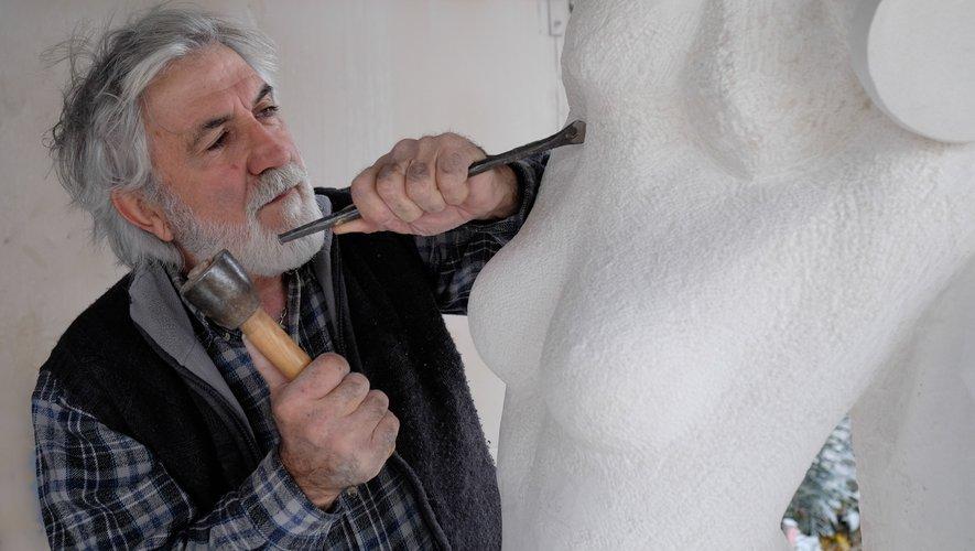 Yves Galzin, sculpteur