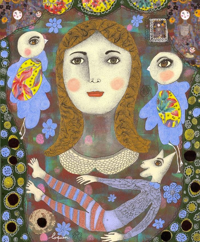 Claudine Loquen Artiste peintre
