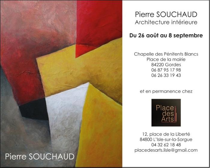 Exposition Pierre Souchaud - Gordes