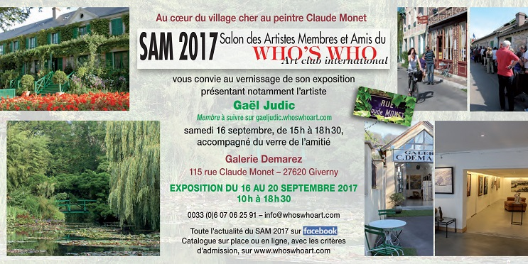 INVITATION GALERIE DEMAREZ CLAUDE MONET