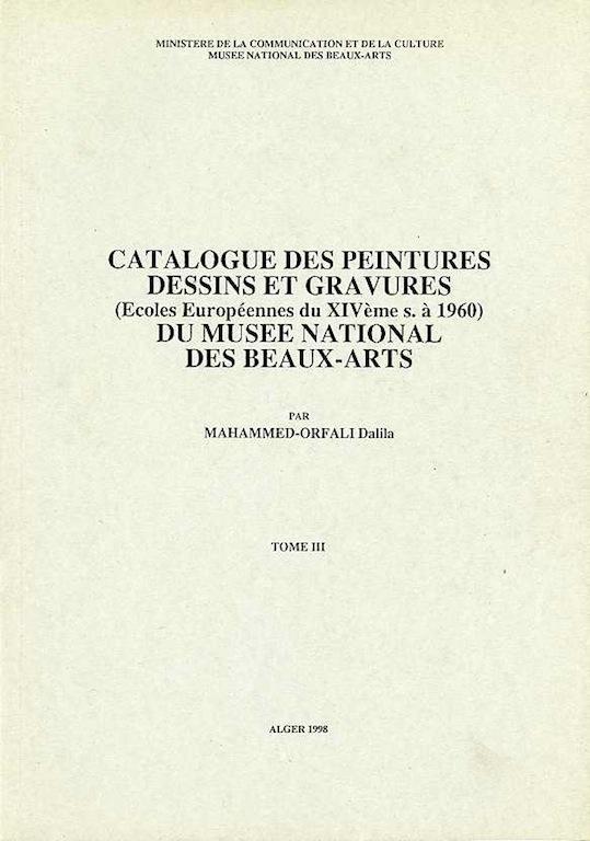 Catalogue Alger