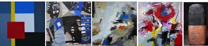 Art abstrait - abstraction lyrique - abstraction géométrique