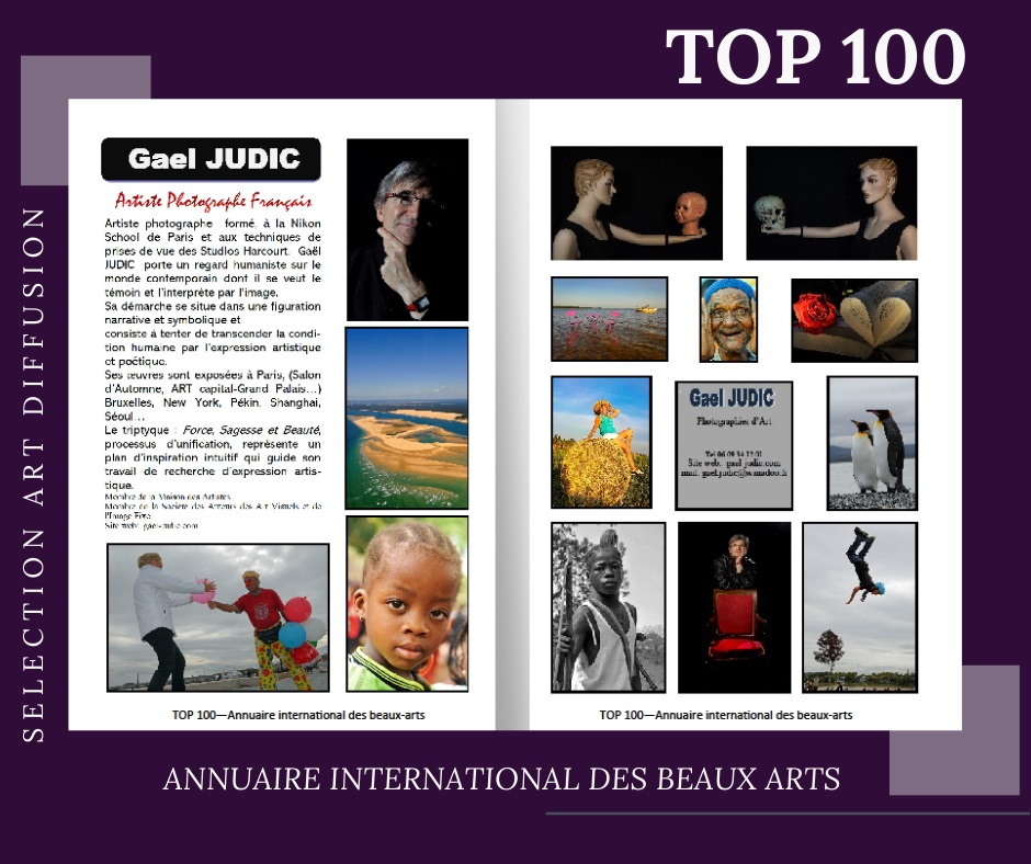 Sélectionné par l'Annuaire International des Beaux Arts. Septembre 2020