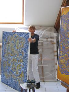 Beatrice Bescon, artiste peintre