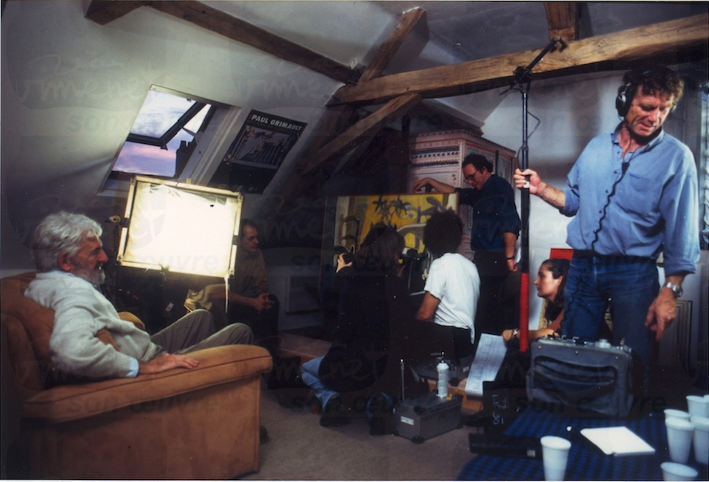 Tournage Cet homme… 1996