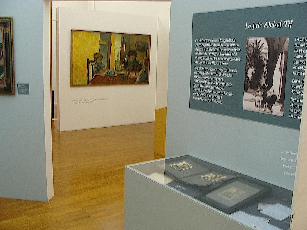 Vue de l'exposition de Lons-le-Saunier