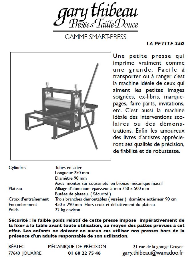 Presse Petite 250