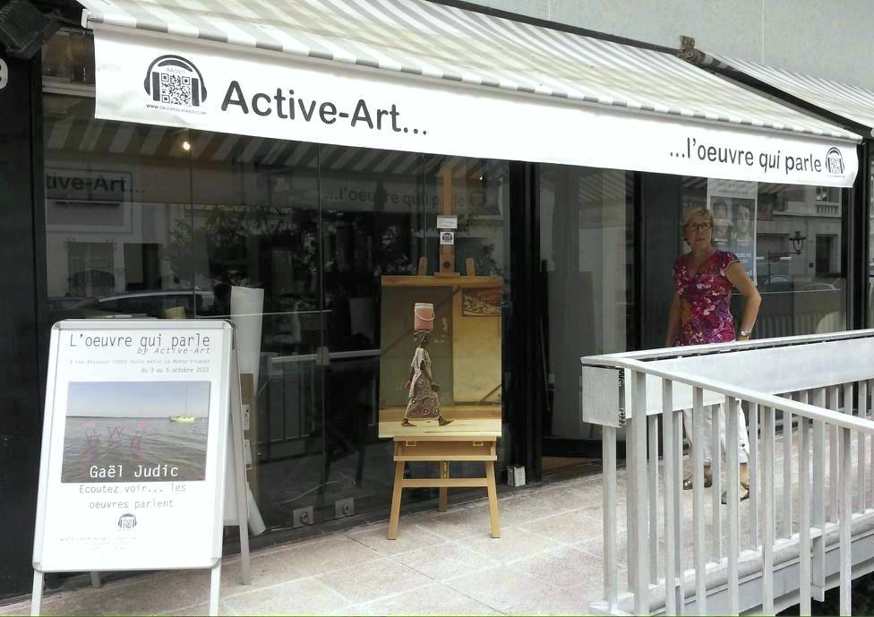 EXPOSITION PERSONNELLE à LA GALERIE ACTIVE ART PARIS