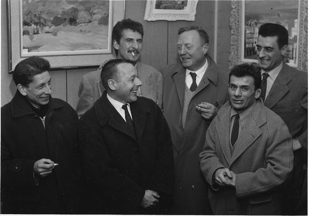 Amis Vimenet, galerie Marguerie, 1955