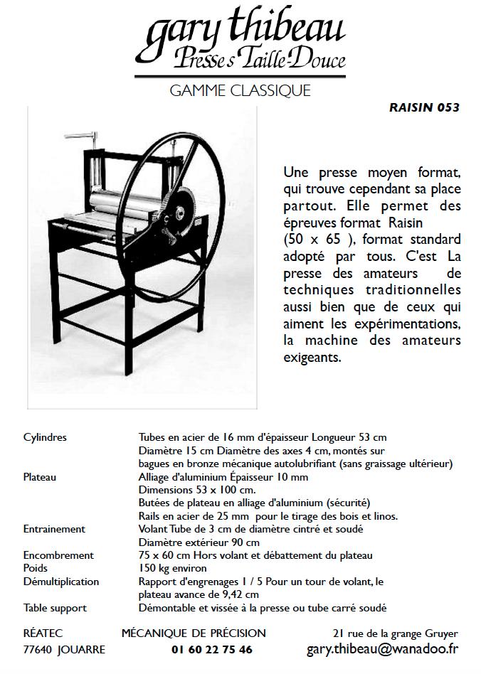 Presse raisin 053