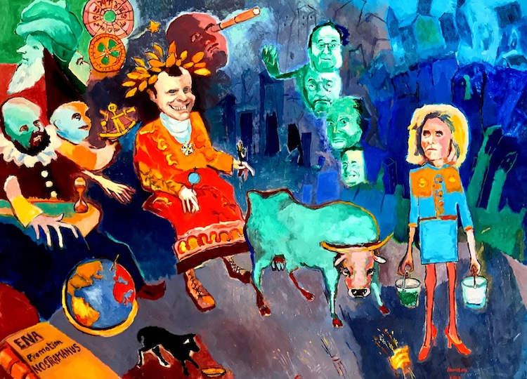 René Lannoy Artiste peintre