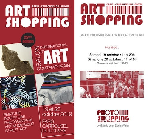 Art Shopping PARIS invitation gratuite